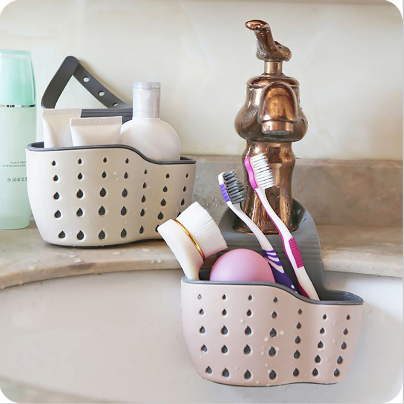 New Home Storage Holders Kitchen Suction Cup Sink Shelf Soap Sponge Holders Drain Rack Sucker Storage Tool