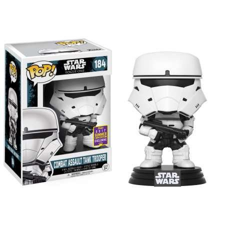 2017 Ö. GDM Exclusive Funko pop Orijinal Star Wars Rogue Tek Savaş Assault Tank Trooper Vinil Şekil Koleksiyon Modeli Oyuncak